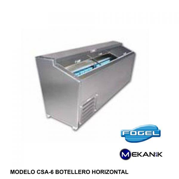Botellero horizontal modelo CSA-6-SC