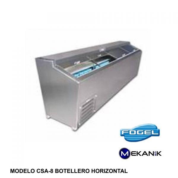 Botellero horizontal modelo CSA-8-SC