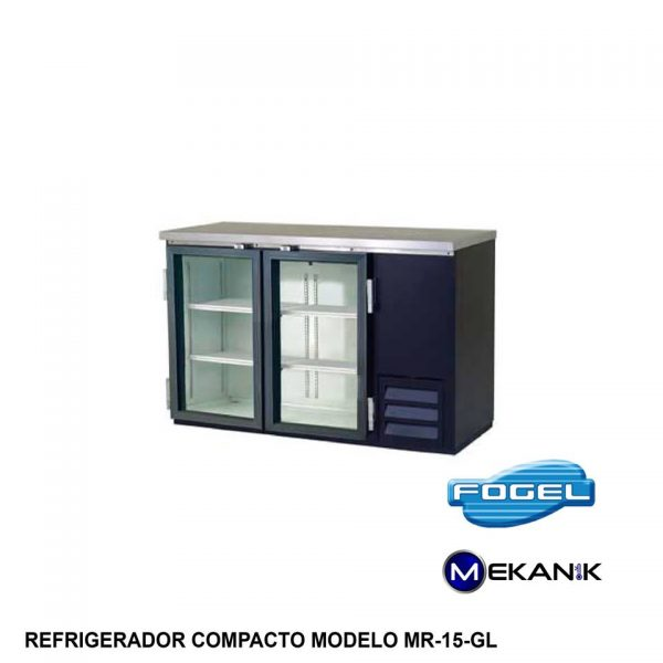 Botellero horizontal modelo MR-15 GL