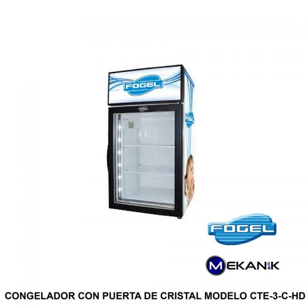 Congelador especial modelo CTE-3-C