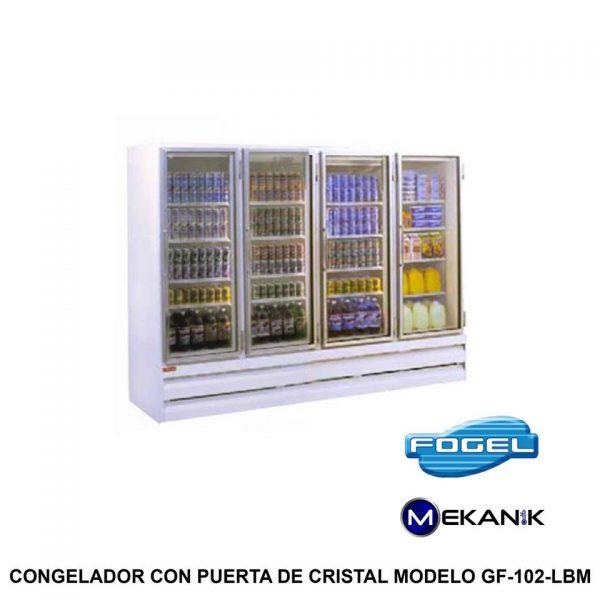 Congelador grande modelo GF-102-BM
