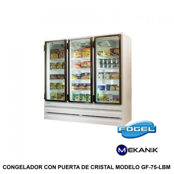 Congelador mediano modelo GF-75-BM