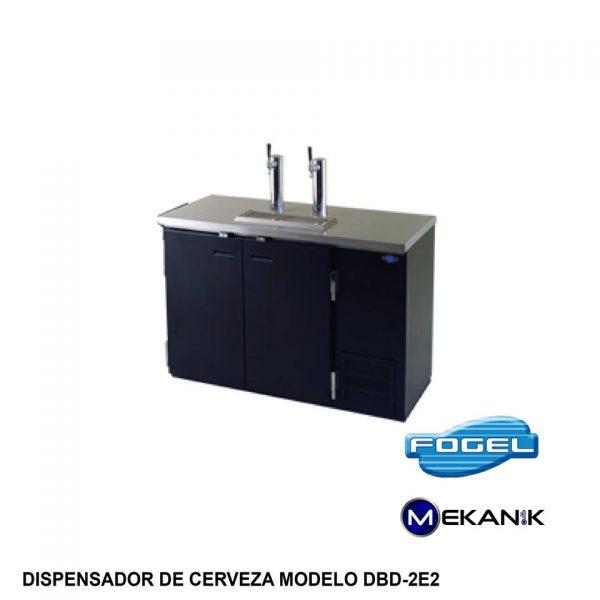 Dispensador de cerveza modelo DBD-2E2