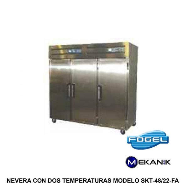 Equipo doble temperatura modelo SKT-48/22-FA