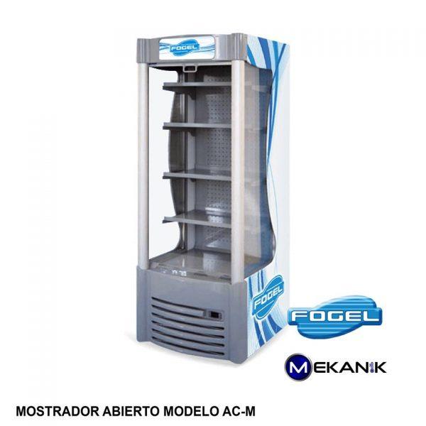 Exhibidor refrigerado abierto mediano modelo AC-M