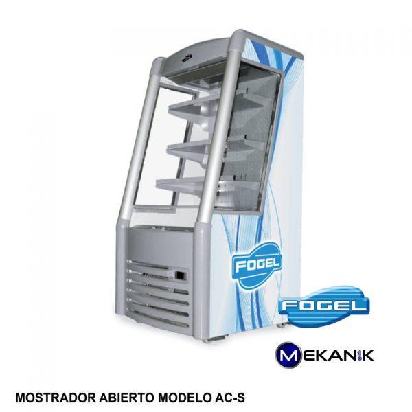 Exhibidor refrigerado abierto pequeño modelo AC-S