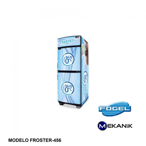 FROSTER de alta capacidad modelo 456-TE