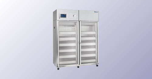 Full Size Double Door Blood Bank Refrigerator – 45 cu ft capacity