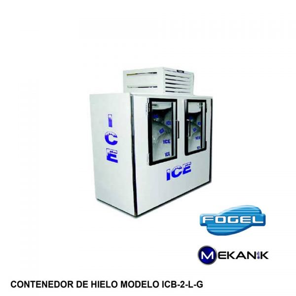 Mantenedor de Hielo modelo ICB-2-G-L