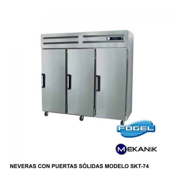 Refrigerador pequeño modelo SKT-74