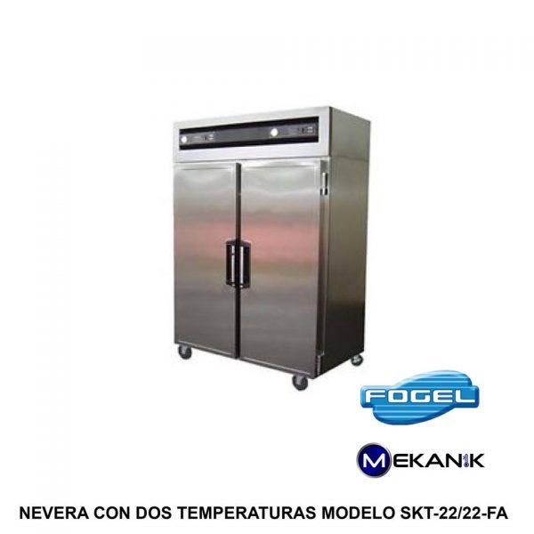 Refrigerador y Congelador mediano modelo SKT-22/22-FA