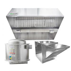 Conveyor Pizza Hood 10′ x 60″