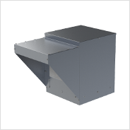 Belt Drive Kitchen Supply Fan with Variations