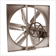 Belt Drive Sidewall Propeller Exhaust/Supply Fans