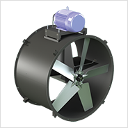 Belt Drive Tubeaxial In-line Duct Fan