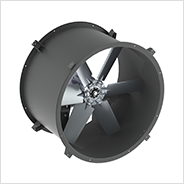 Direct Drive Tubeaxial In-line Duct Fan