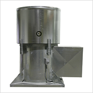 Tubeaxial Upblast Propeller Roof Exhaust Fan for Heat and Smoke Removal