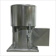 Tubeaxial Upblast Propeller Roof Exhaust Fan