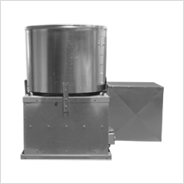 Remote Drive Upblast Propeller Roof Exhaust Fan