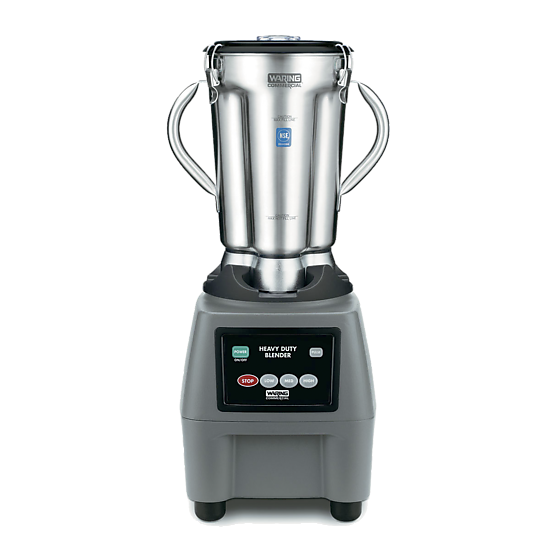 One-Gallon 3.75 HP Food Blender with Electronic Keypad