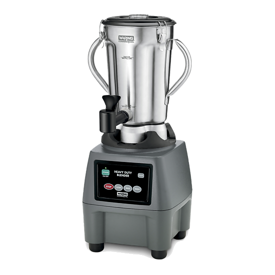 One-Gallon 3.75 HP Food Blender with Spigot