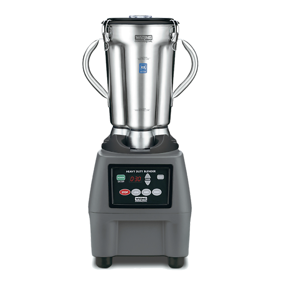 One-Gallon 3.75 HP Food Blender with Electronic Keypad and Timer