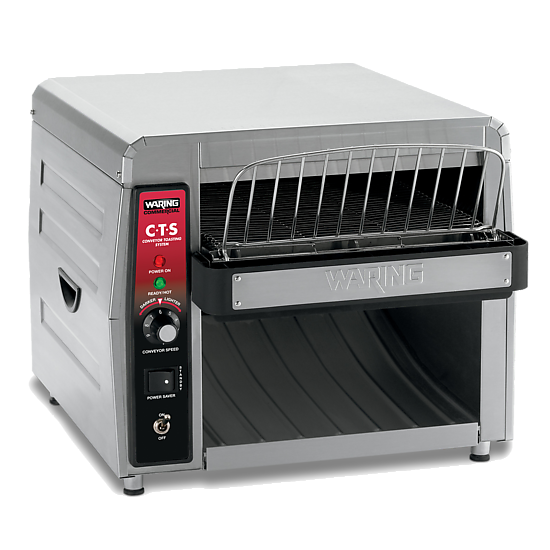 Heavy-Duty Conveyor Toaster