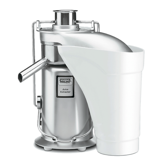 Heavy-Duty Stainless Steel Juice Extractor with Pulp Ejection