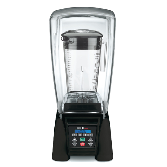 Reprogrammable Hi-Power Blender with Sound Enclosure and 64 oz. Copolyester Container