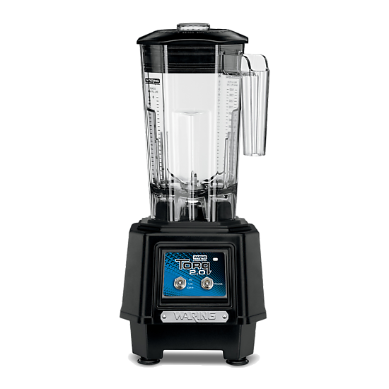 Torq 2.0 2-HP Blender with Toggle Switch