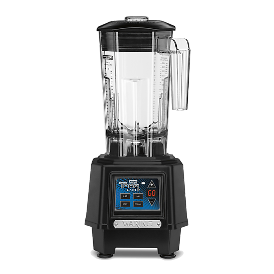 Torq 2.0 2-HP Blender with Electronic Touchpad Controls and 60-Second Countdown Timer