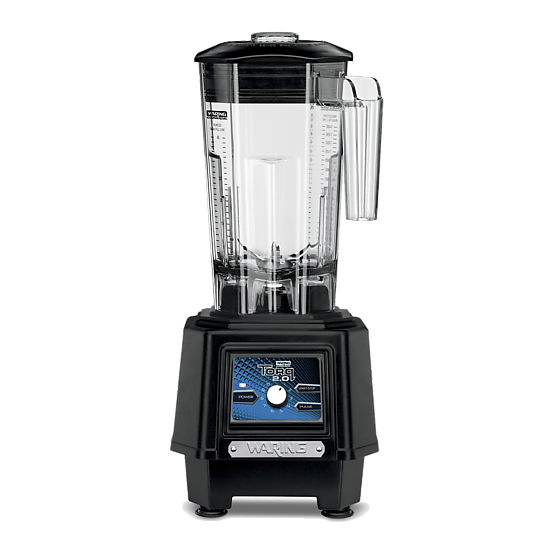Torq 2.0 2-HP Blender with Electronic Touchpad Variable Speed Control Dial