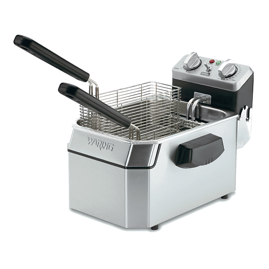 Heavy-Duty 10 lb. Deep Fryer – 120V