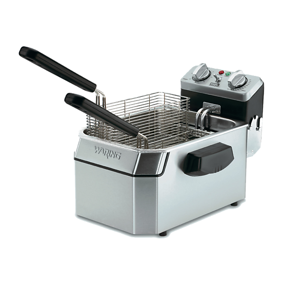Heavy-Duty 15 lb. Deep Fryer – 208V