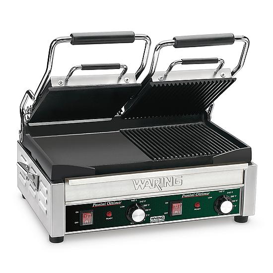 Double Italian-Style Panini/Flat Grill – 240V