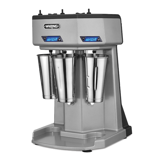Heavy-Duty Triple-Spindle Drink Mixer with Timer