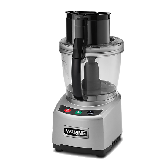4 Qt. Bowl Cutter Mixer Food Processor with Patented LiquiLock® Seal System