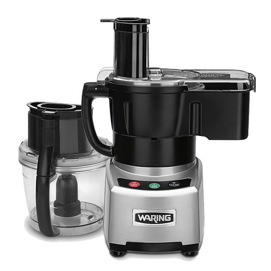 4 Qt. Combination Bowl Cutter Mixer and Continuous-Feed Food Processor with Patented LiquiLock® Seal System and Dicing