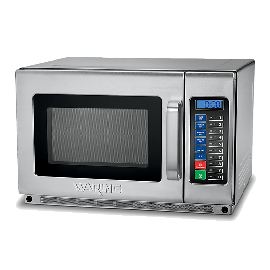 Heavy-Duty 1.2 Cubic Foot Microwave Oven