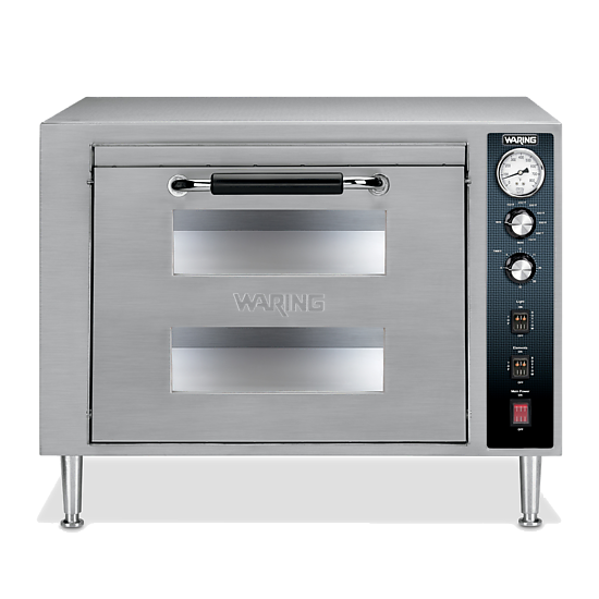 Double-Deck Pizza Oven – Single Chamber
