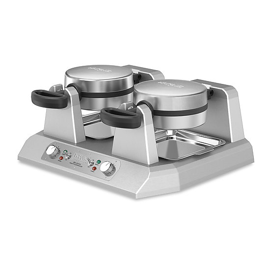Side-By-Side Single Belgian Waffle Maker – 120V 2400W