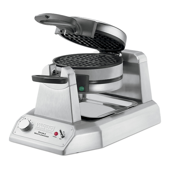 Double Classic Waffle Maker – 120V 1300W